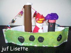 Boot van Sinterklaas