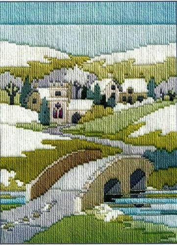 Winter Walk, longstitch embroidery kit by Derwentwater, UK