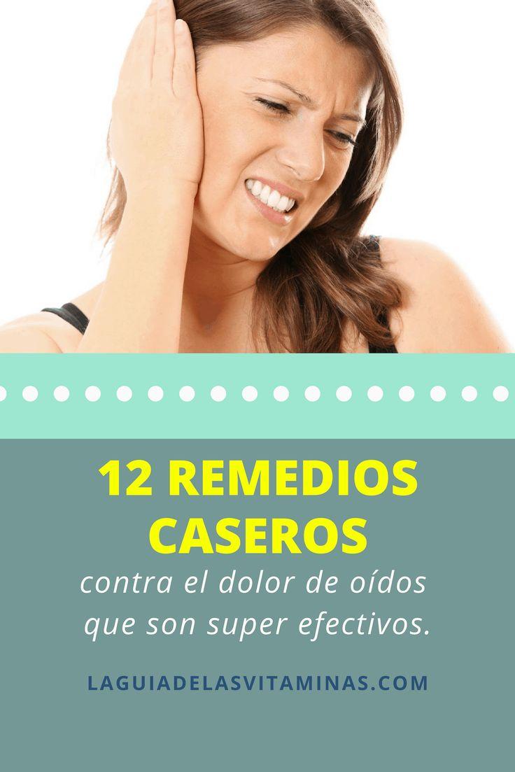 12 remedios caseros contra el dolor de oídos efectivos..