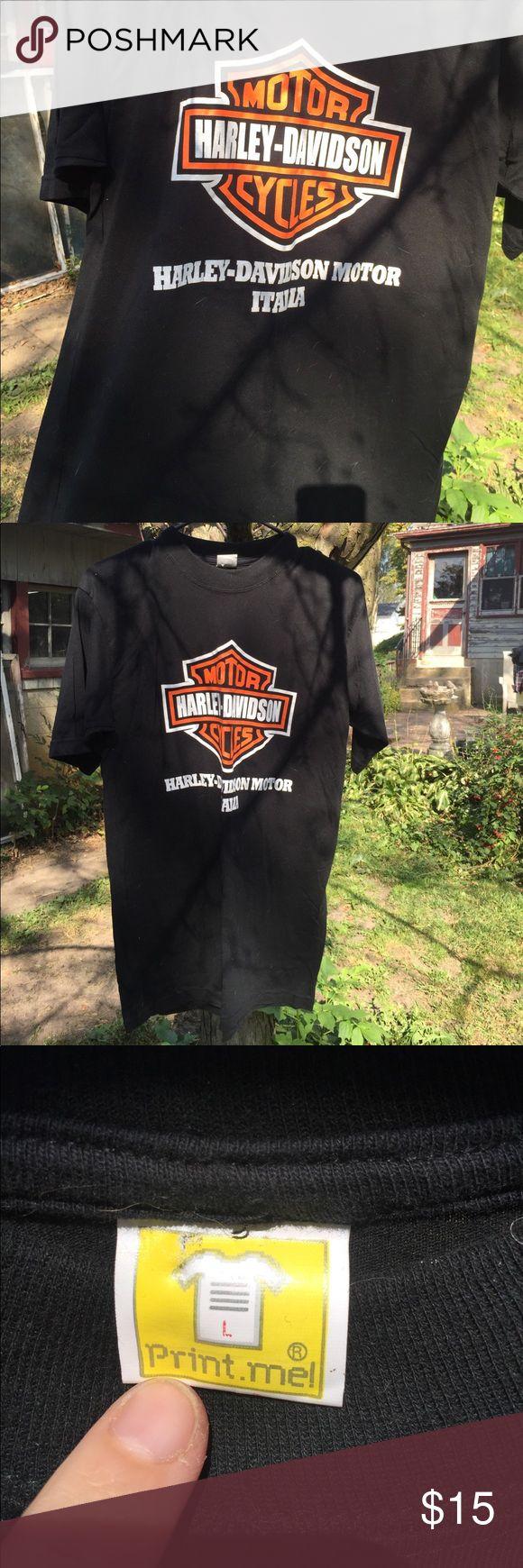 Ultra Soft Harley Davidson Italia Shirt Men's Large  Reasonable offers considered. Bundle discounts based on items. Shirts Tees - Short Sleeve
