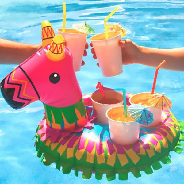 Pinata Drink Float With Images Boat Party Big Mouth Pool