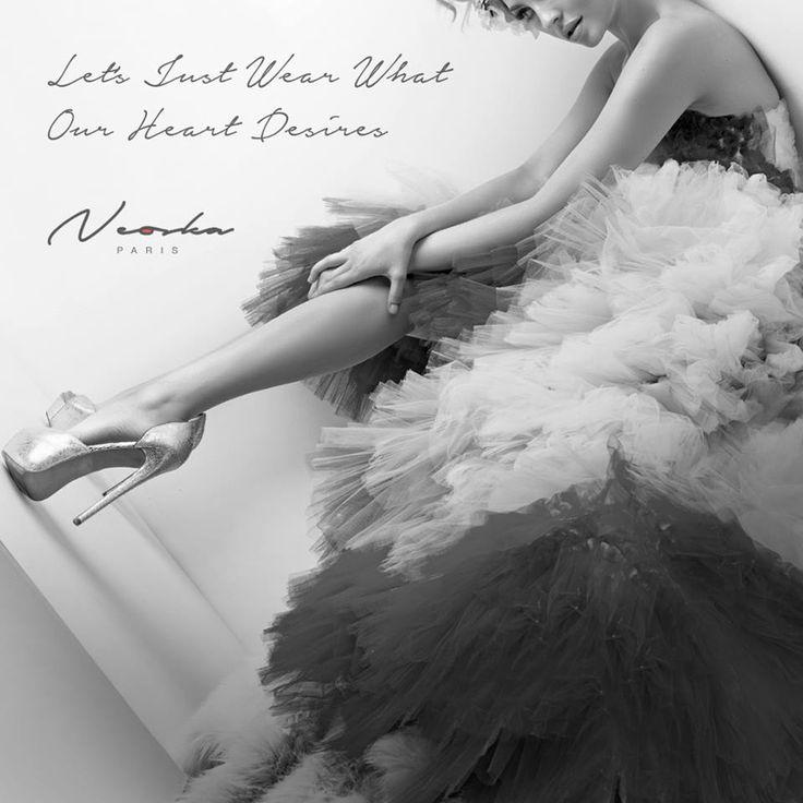 Habillons-nous comme le cœur nous en dit   Let's Just Wear What Our Heart Desires   #Neoska #NeonaSkane #ParisianStyle #TheWhiteWalk #Fashion