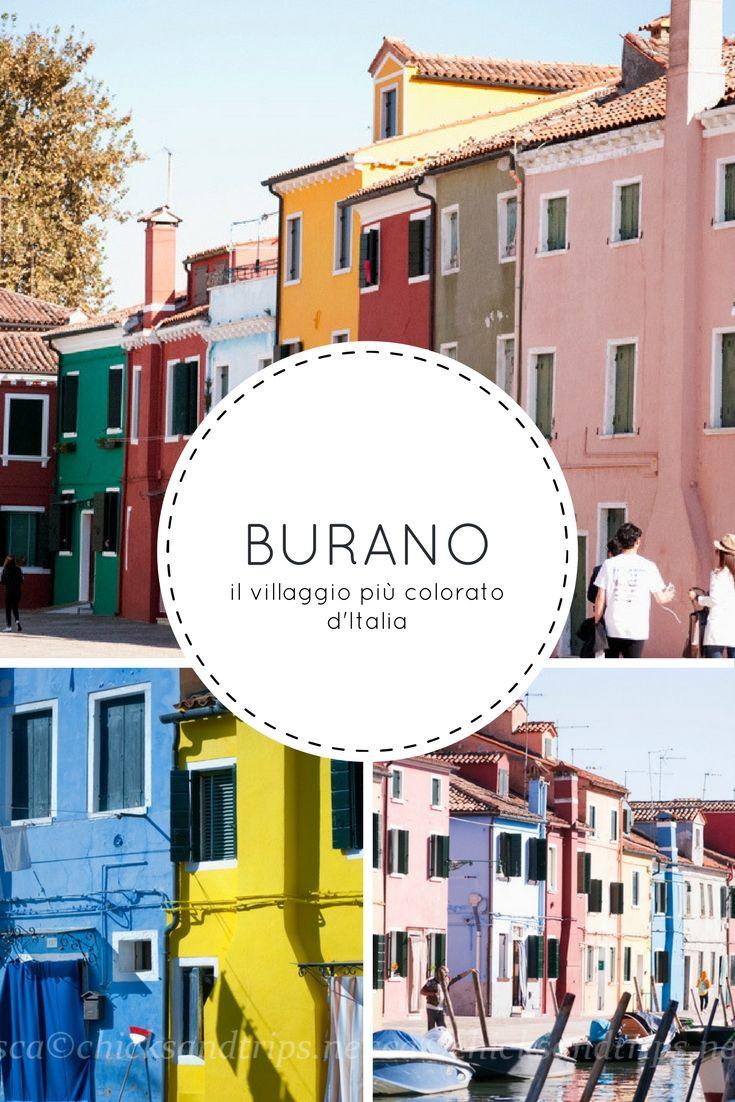 Burano, a pochi minuti di vaporetto da Venezia, è il villaggio più colorato d'Italia!