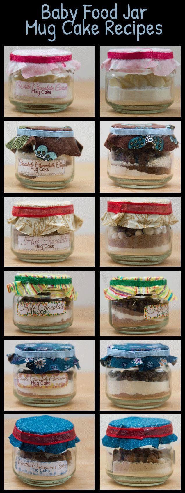 Baby Food Jar Mug Cake Recipes And Gift Basket