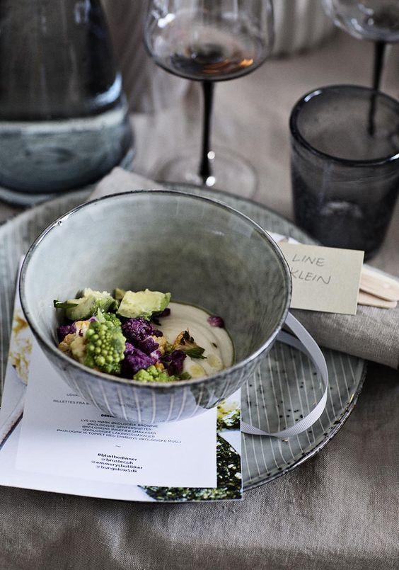 Un bol sobre et chic à la fois, la beauté et la pureté de la vaisselle Broste Copenhagen nous fait voyager !