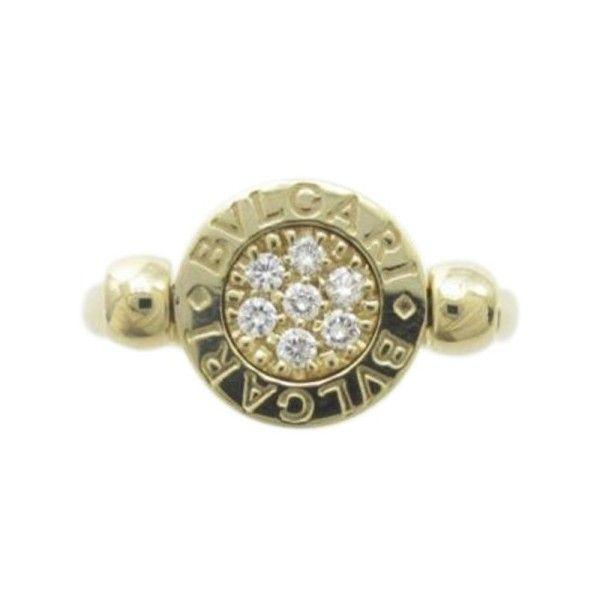 preowned bulgari bvlgari 18k yellow and white gold ring size 45 u20ac1255