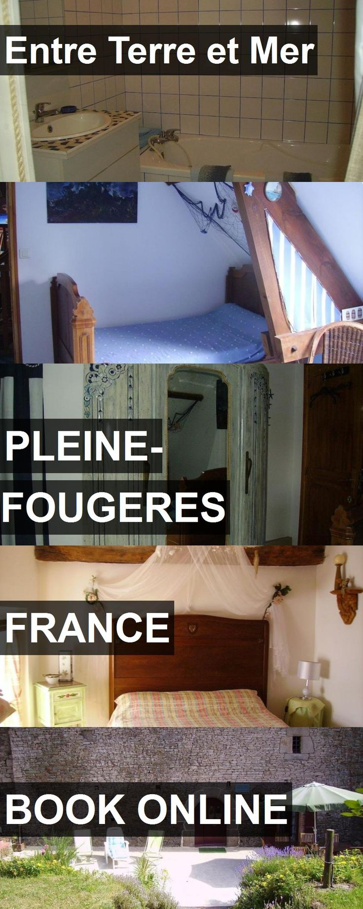 Hotel Entre Terre et Mer in Pleine-Fougeres, France. For more information, photos, reviews and best prices please follow the link. #France #Pleine-Fougeres #travel #vacation #hotel