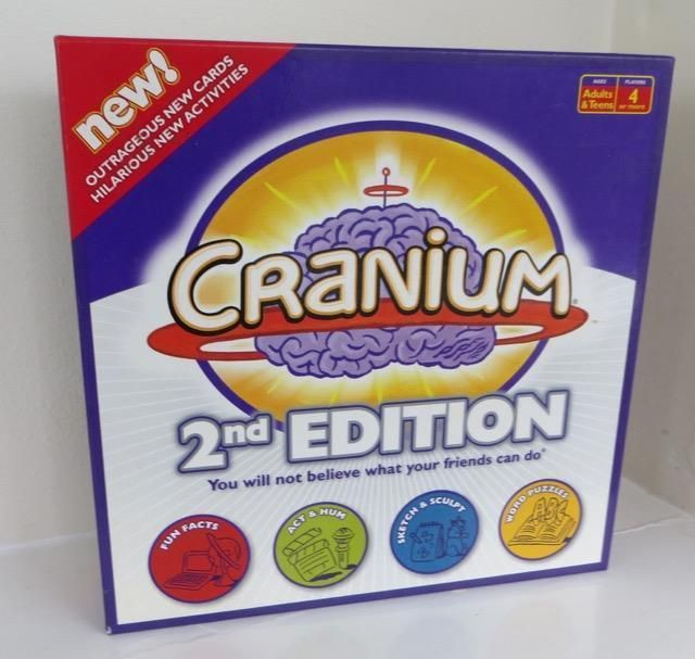 Cranium 2nd Edition Board Game Boxed Complete Family Party