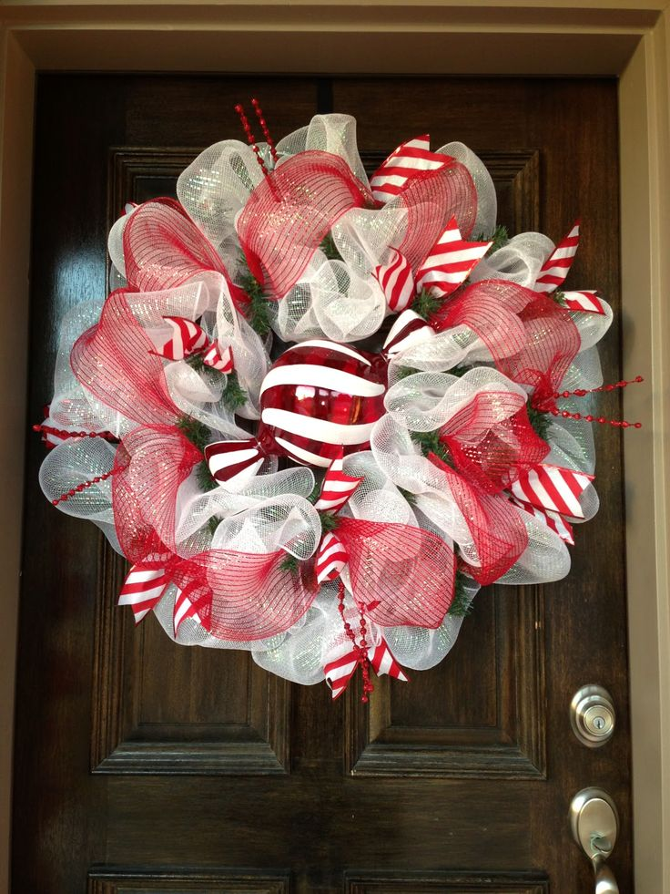 600 Best Christmas Holiday Wreaths Images On Pinterest