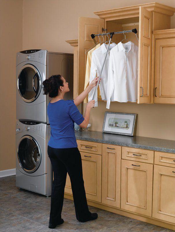 35 W 48 W Closet Rod Laundry Room Design Pantry Laundry Room Closet Rod