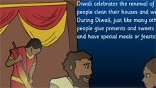 NON FICTION - About Diwali + Rama and Sita Story