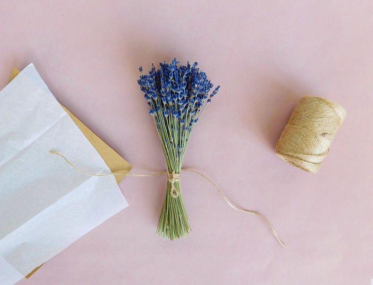 Пучок лаванды. Букет лаванды - Lavender. Dried flowers. Dried bouquet