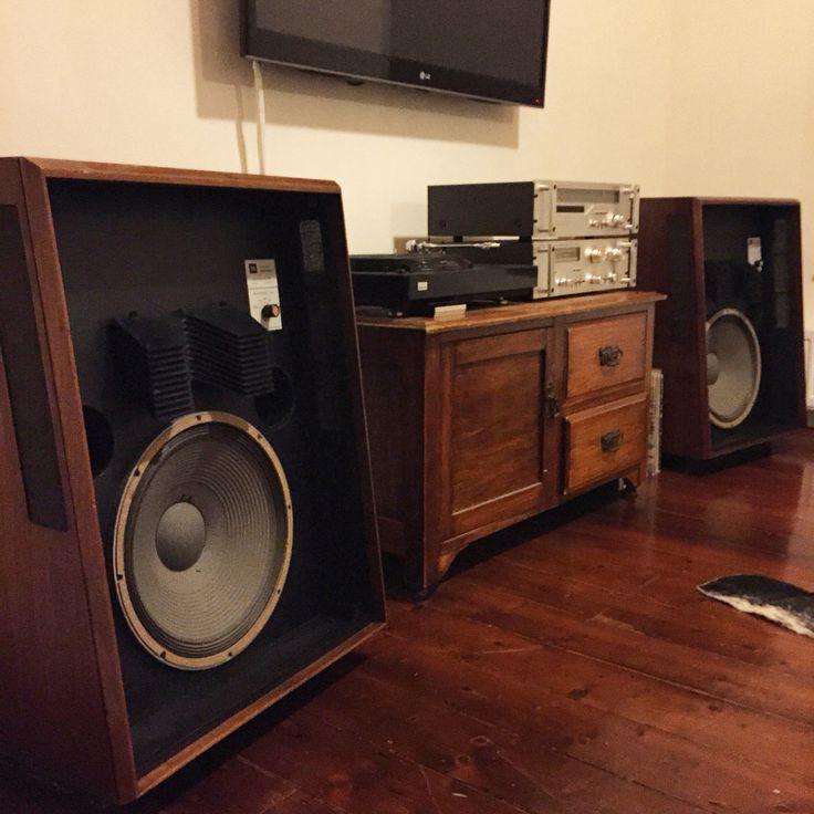 Jbl L200 Vintage Greatness In 2019 Audio Room Vinyl