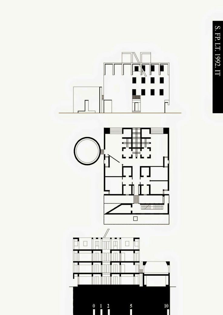 Gibellina, Franco Purini e Laura Thermes, Casa Pirello (progetto originale), 1990