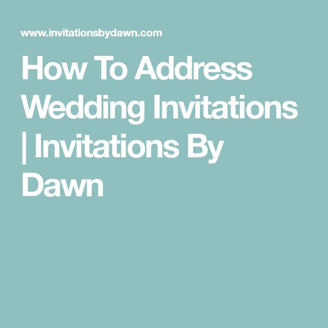 Addressed Wedding Invitations: Best 25+ Addressing Wedding Invitations Ideas On Pinterest