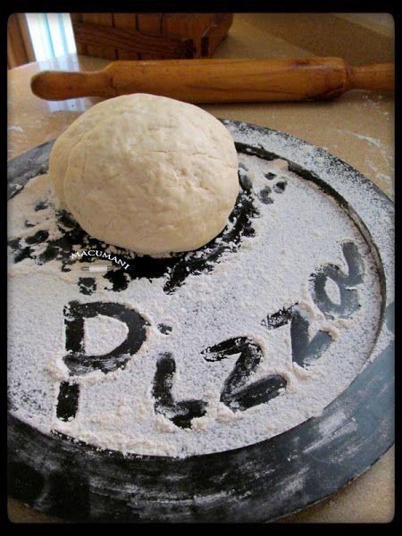 MASA DE PIZZA FÁCIL ( PASO A PASO )