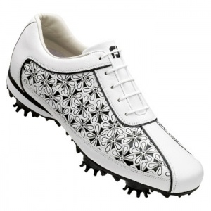Footjoy LoPro Golf Cleats Womens White Leather - ONLY $99.99