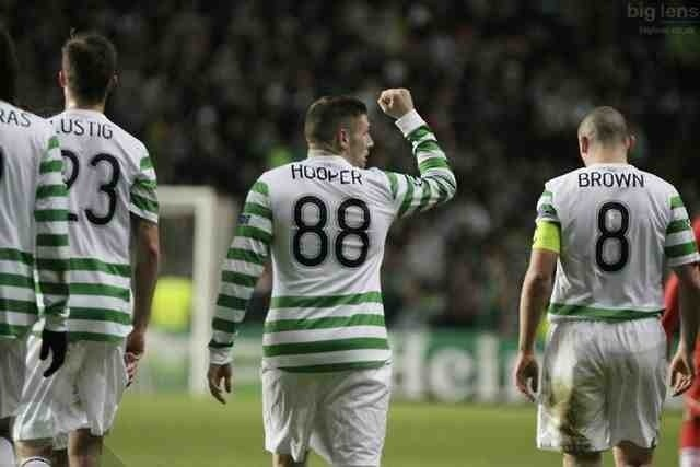 Celtic make it to the 'Super Sixteen'. The Hoops beat Spartak Moscow 2-1 to qualify for the last sixteen of the Uefa Champions League