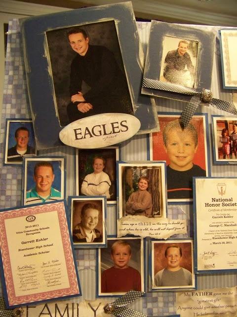 Graduation board collage