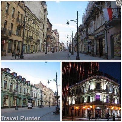 Famous Building of #Łódź #Lodz #travel in Poland