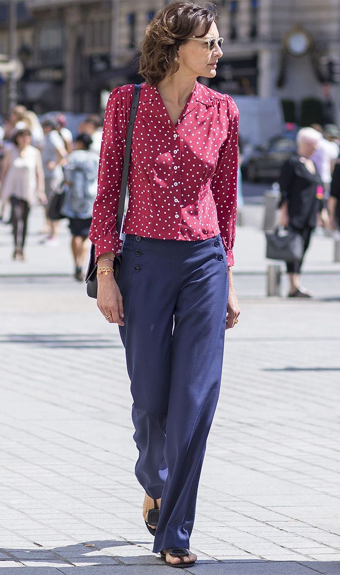 Inès de la Fressange has spoken, and we're listening. Find out what way of dressing can age you here.