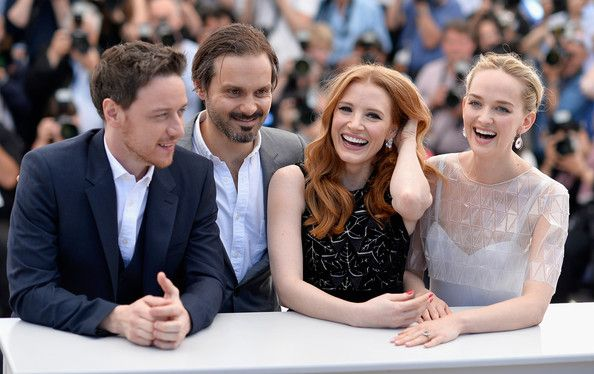 """Jessica Chastain - """"The Disappearance Of Eleanor Rigby"""" Photocall - The 67th Annual Cannes Film Festival"""
