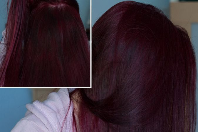 loreal hi color magenta hair dye dark hair red without bleach