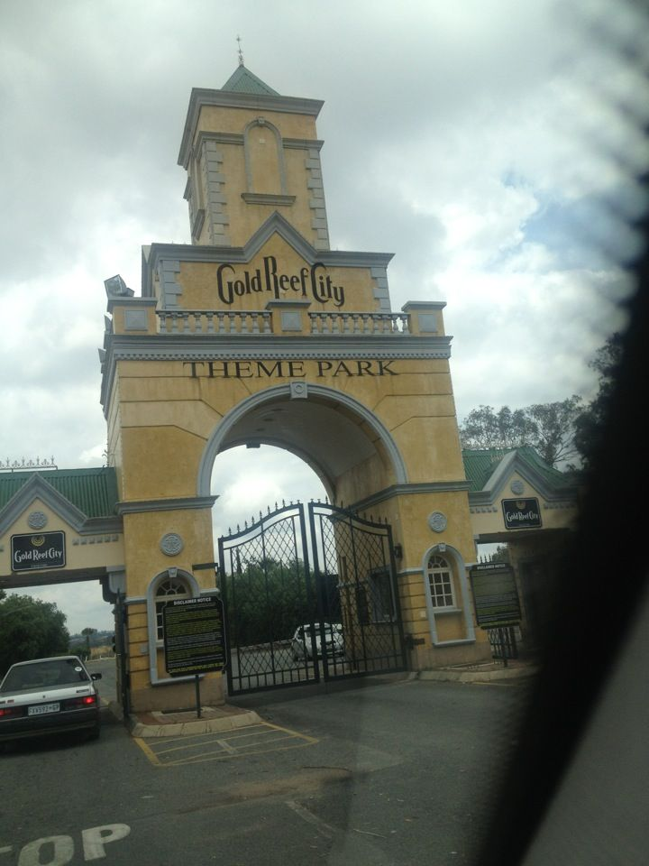 Gold Reef City Theme Park in Johannesburg South, IGauteng