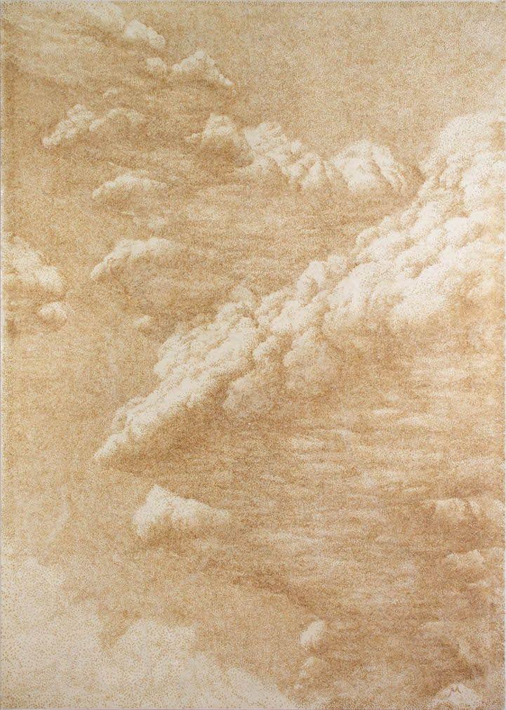 Reverse Pointillism: Incense Series by Jihyun Park