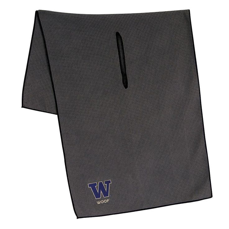 Washington Huskies Microfiber Golf Towel, Multicolor