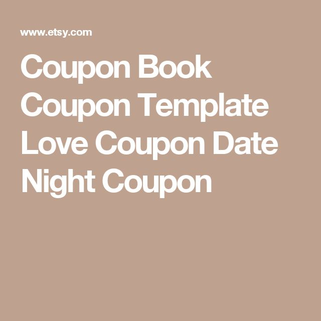 9 best Love coupons images on Pinterest Valentines, Boyfriend - coupon disclaimer examples