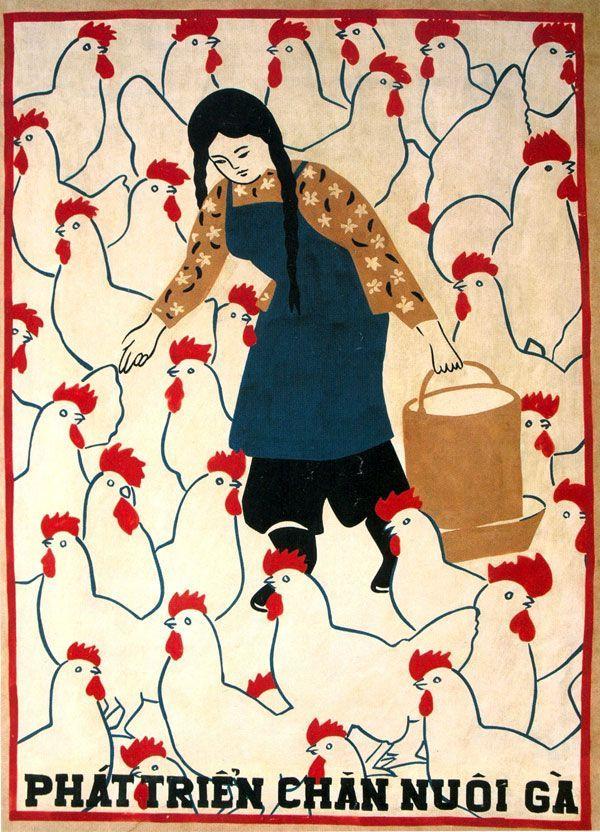 "goodmemory: ""Vietnam poster. Unknown artist via """