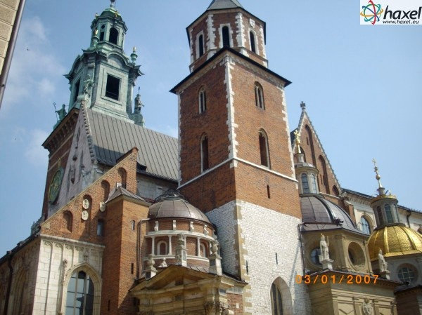 The Wawel Hill in Crakow - a must for foreign tourists, a microcosm of Polish history and culture.