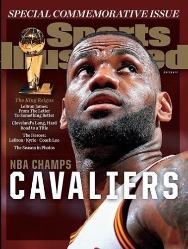 LEBRON JAMES, CLEVELAND CAVALIERS - SI Sports Illustrated Commemorative Magazine