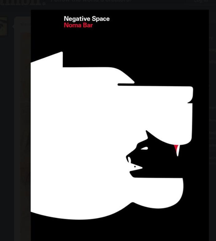 Negative Space_Dog & Cat