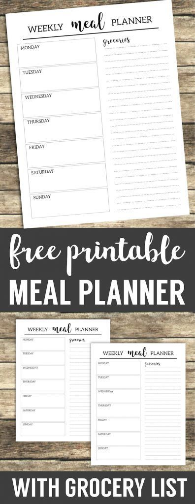 Best 25+ Recipe and shopping list planner ideas on Pinterest - printable shopping list