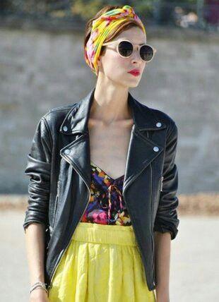 Chic hair scarf ♥ #attachnwrap #headscarf #hairscarf #badhairday #protectivehairstyle