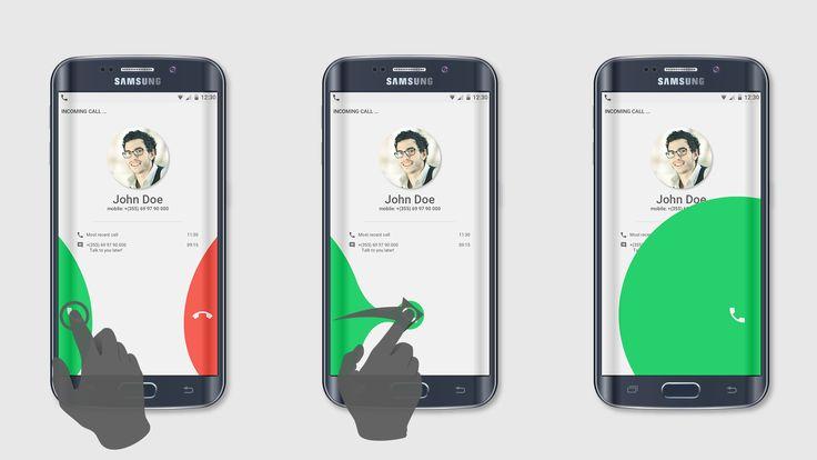 Preview call screen concept 01