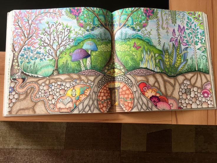 Johanna Basforf - Enchanted forest - by mandarina