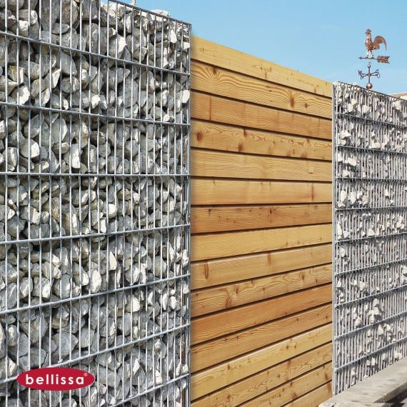 Gabionen Anbauprofil Zur Holzaufnahme 2 St Gabionen Mauersysteme Gabionen Garten Hof Baustoffe Und Werkzeug Baywa Baustoffe Mauersysteme Gabionen
