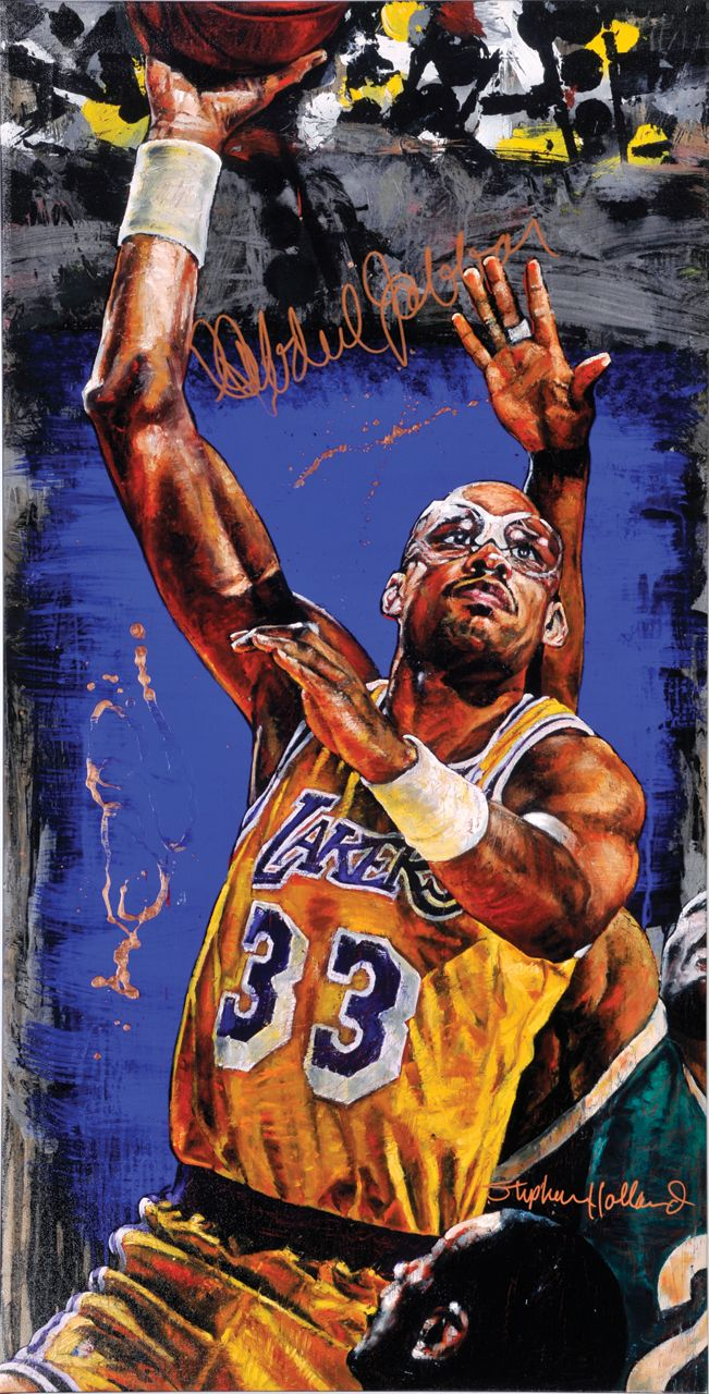Kareem Abdul-Jabbar by Stephen Holland