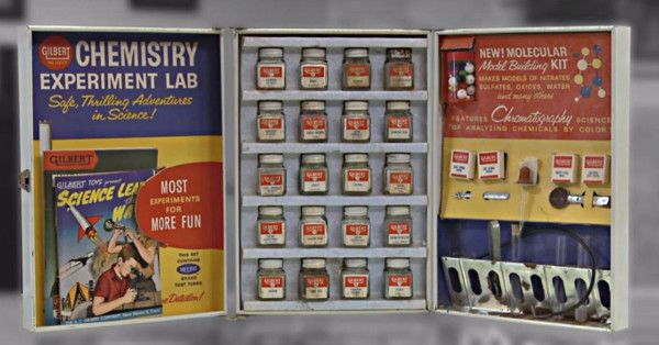 This Old Chemistry Set Definitely Took Me Back…You Won't See This On The Shelves Anymore!