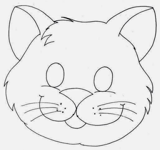 Máscaras de Animales para Imprimir Gratis. | Ideas y material