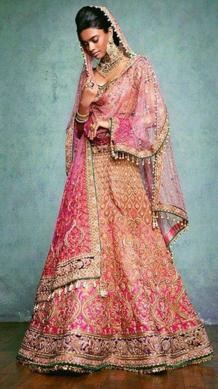 Indian Outfits Bridal Wear Clothes Outfit Fashion Bride Kleding Wedding Dress