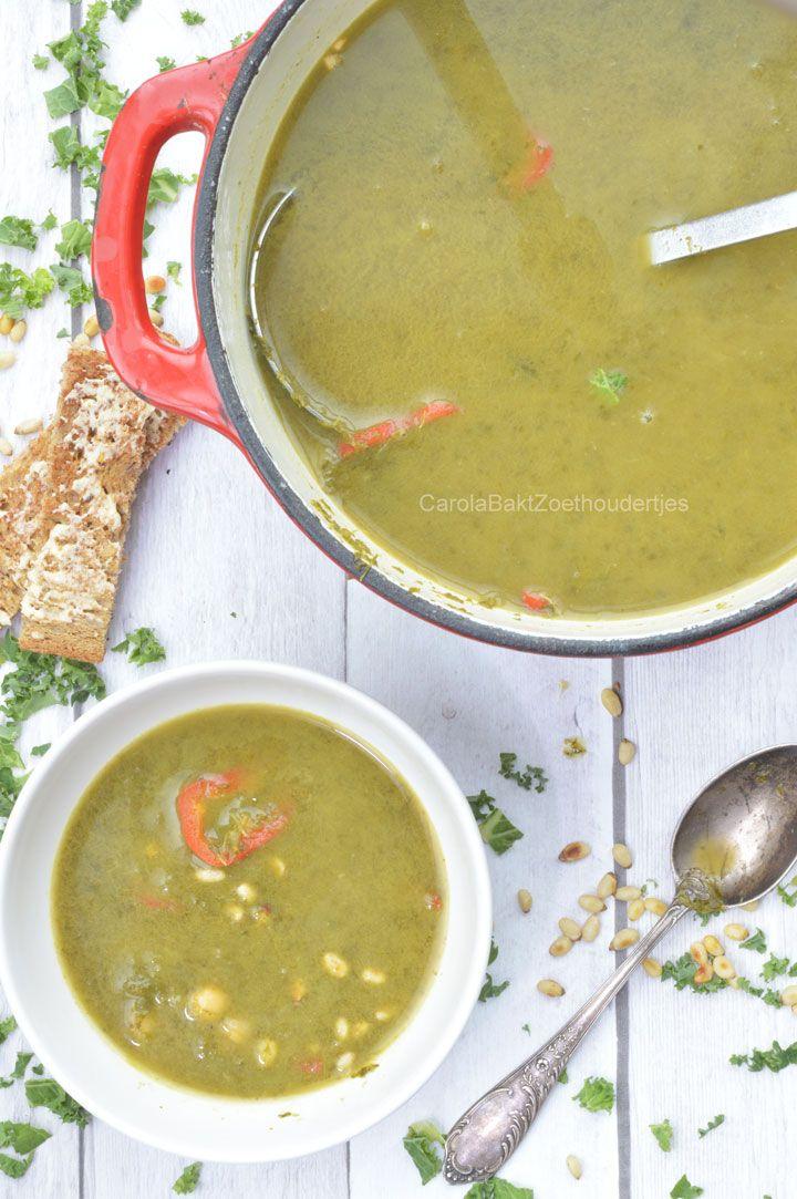 Boerenkoolsoep, gezond en lekker snel klaar Healty Kale soup