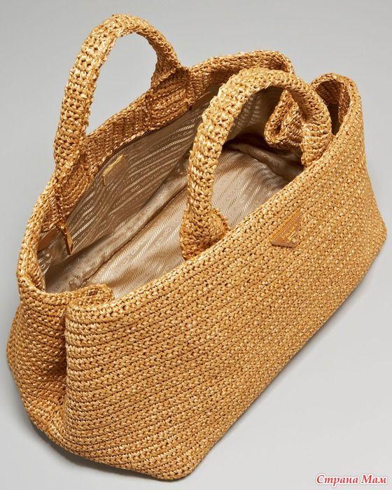 Для вдохновения: вязаные сумки от Prada и не только. Комментарии : LiveInternet - Российский Сервис Онлайн-Дневников