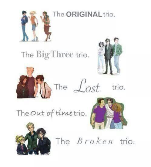 Heroes of Olympus - Friendship - Trio