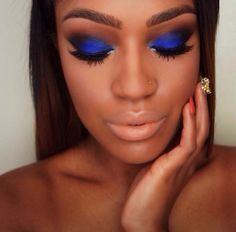 eyeshadow colors for dark skin - Google Search