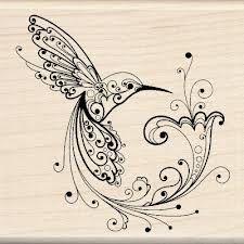 black hummingbird tattoo - Google Search