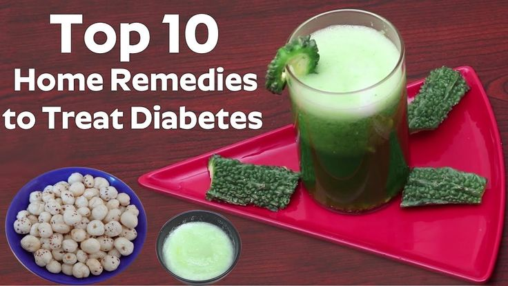 TOP 10 Great Home Remedies to Treat Diabetes at Home